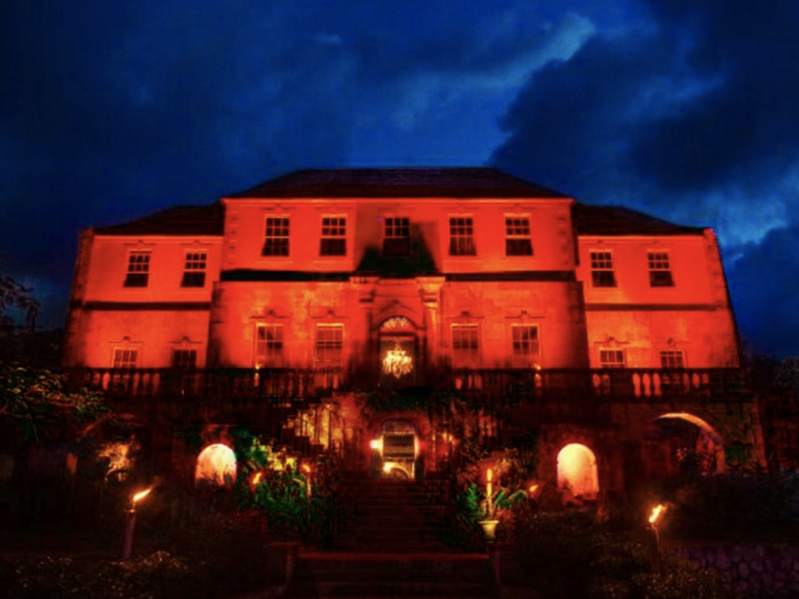 Rose Hall Plantation in Jamaica's Montego Bay.