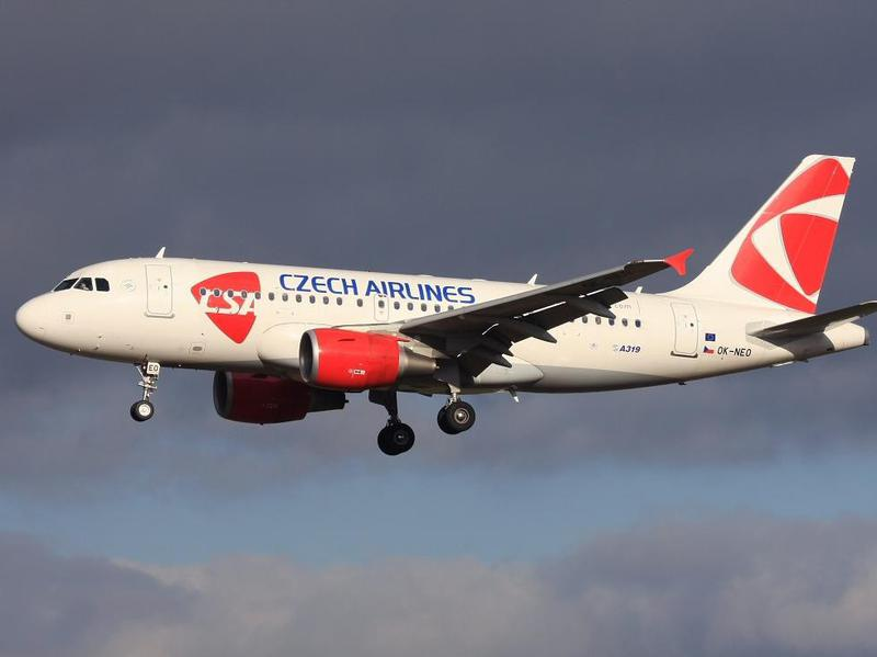 Czech Airlines transports passengers to more than 100 destinations around the world on its fleet of 17 airplanes.