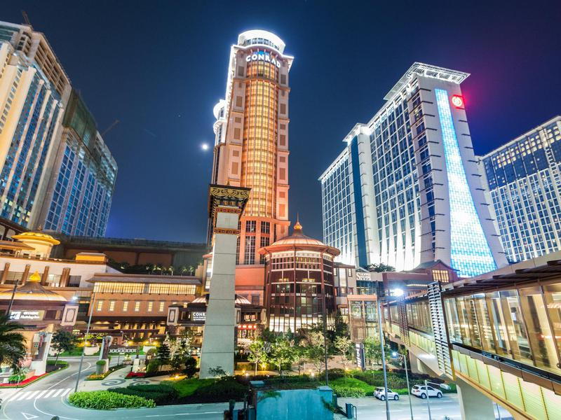 Sands Cotai Central cost billions to build and includes multiple properties.