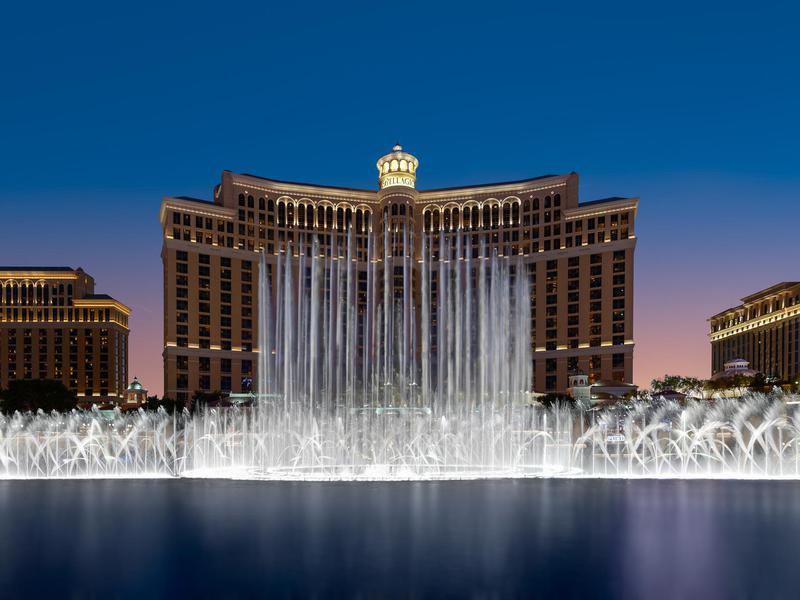Almost everyone who's been to Vegas has walked by the epic Bellagio.