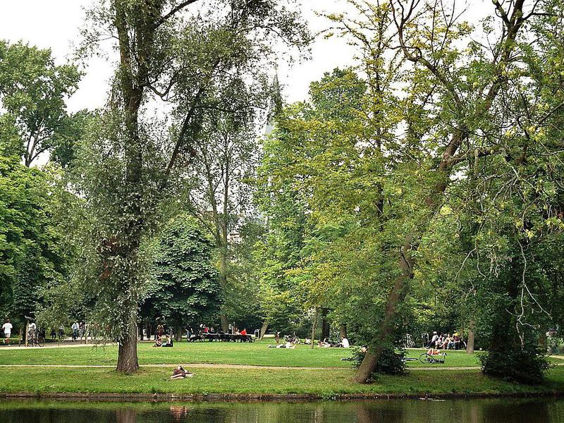 Vondelpark is perfect for lazing away an afternoon.