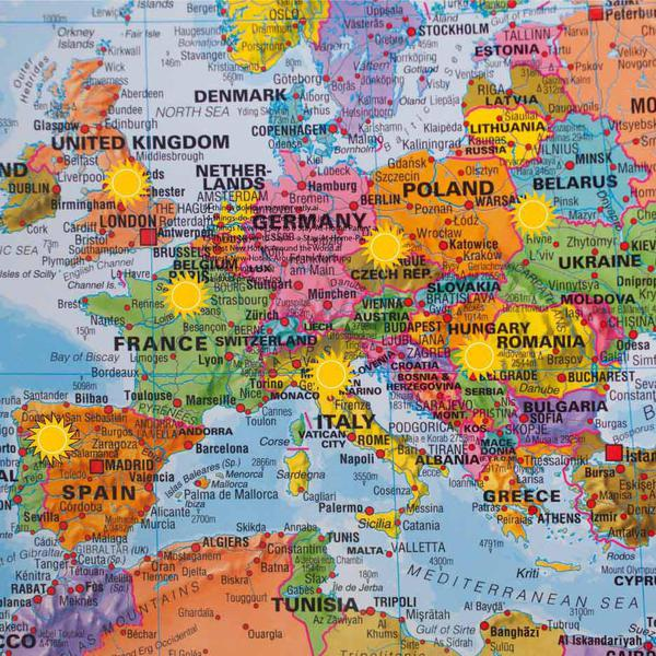 Best Summer Destination in Every European Country